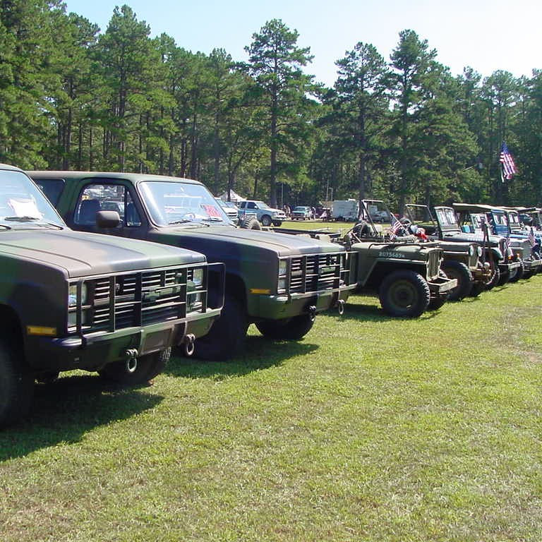 Military Vehicle Rally