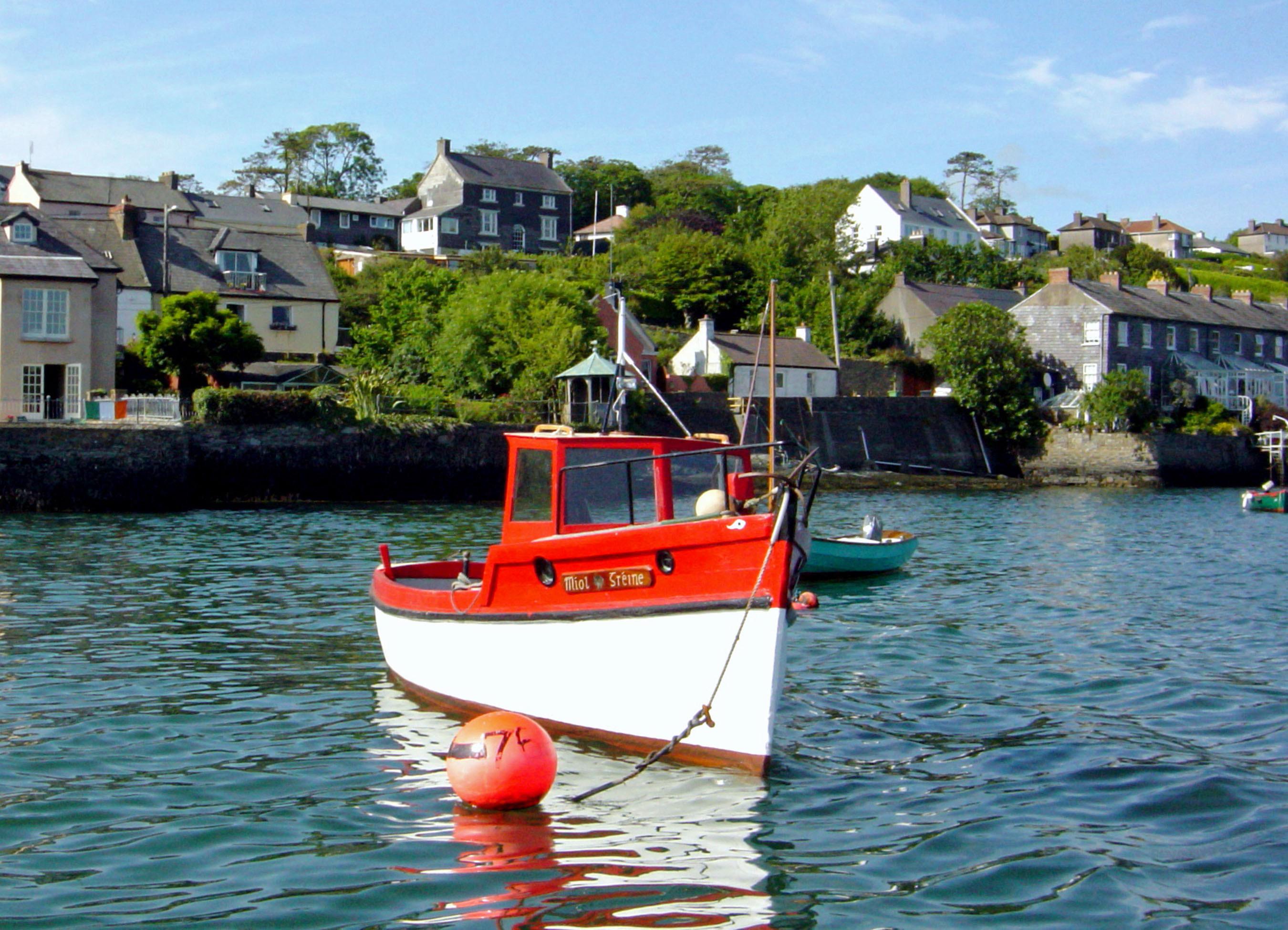 AUG12 Kinsale Fishing Boat