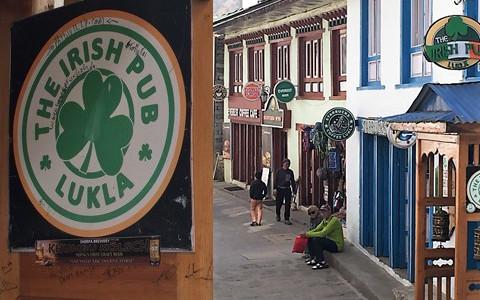The Irish Pub: Lukla, Nepal