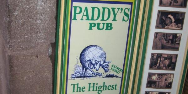 Paddy's Pub: Cusco, Peru