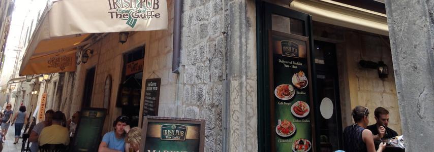 The Gaffe Irish Pub: Dubrovnik, Croatia