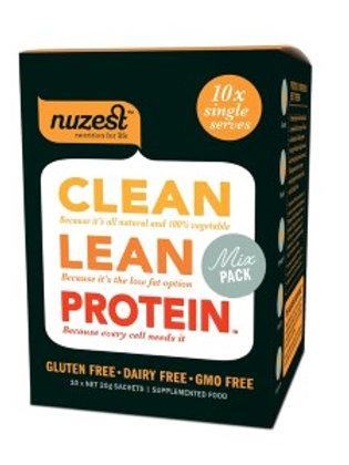 NuZest clean lean protein sachets mixed flavour 10 x 20g