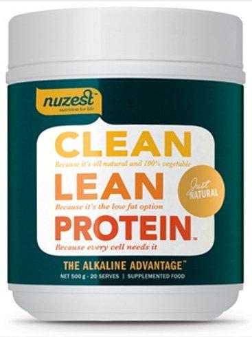 NuZest clean lean unflavoured protein 500g