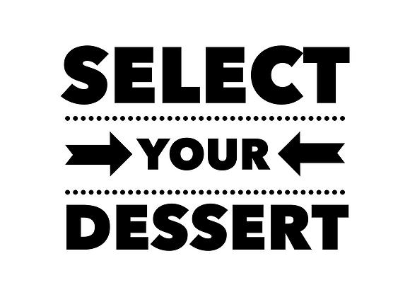 Meal Deal/Dessert