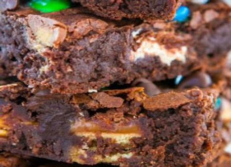 Loaded Candy Bar Brownies