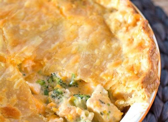 Broccoli Cheddar Pot Pie