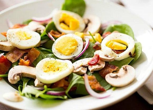 Spinach Mushroom w/Chicken