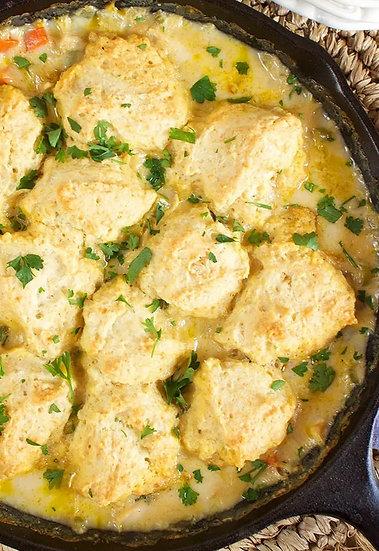 Chicken & Dumplings Bake