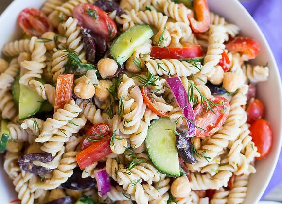 Greek Tzatziki Pasta Salad