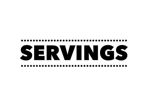 Meal Deal/Servings