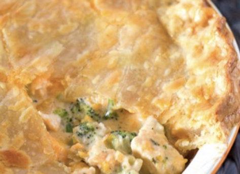 Cheddar Broccoli Pie