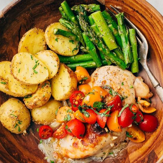 Bruschetta Chicken Dinner