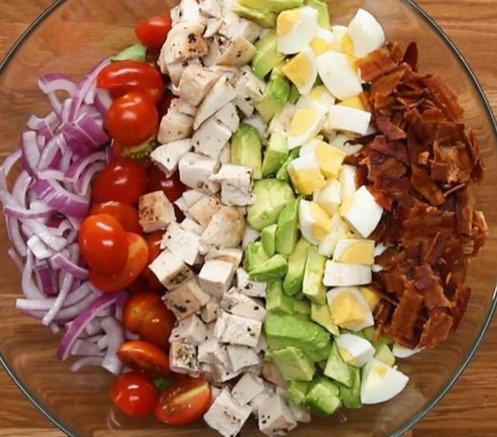 Chicken Cobb Salad w/Ranch