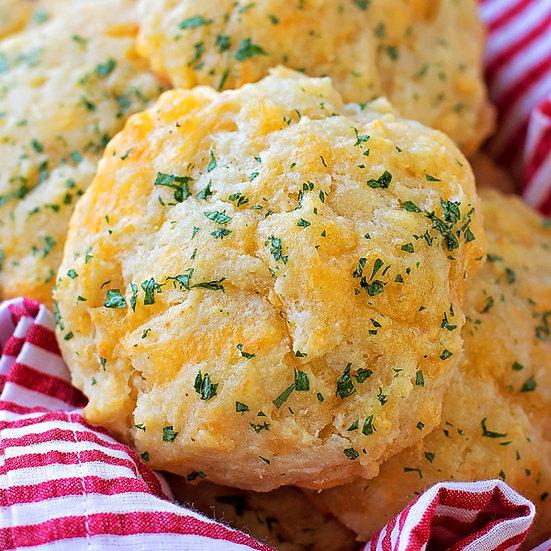 Cheddar Garlic Tea Biscuits