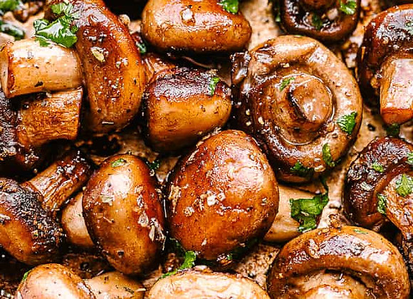 Brown Butter Mushrooms