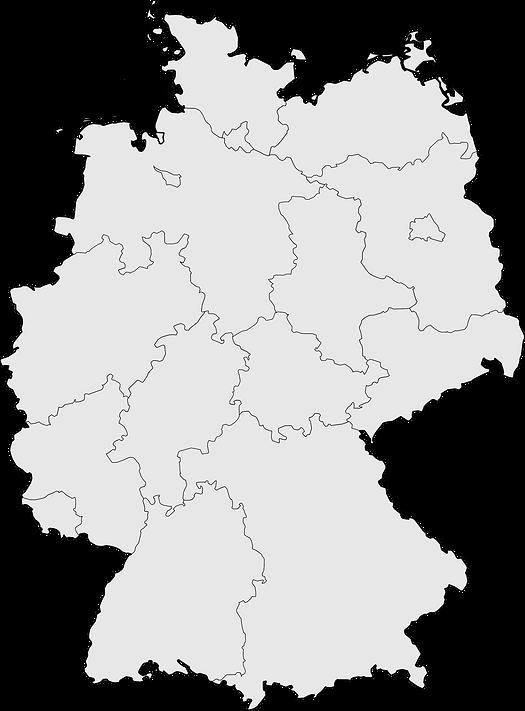 Deutschlandkarte Mieterio