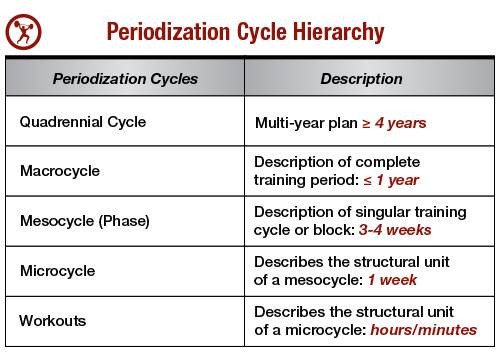 Periodization Training
