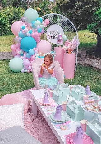 birthday party event styling central coast event hire