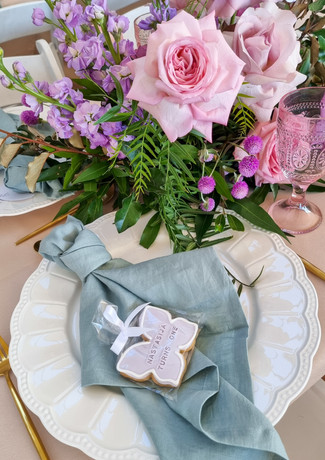 event styling central coast birthday party, baby shower, gender reveal parties