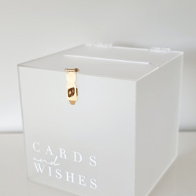 Wishing well - Frosted acrylic