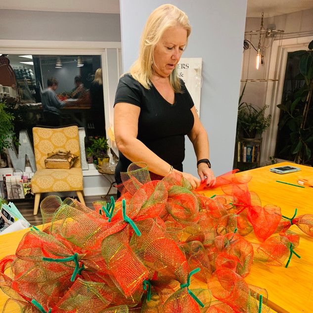 Mesh Wreath Workshop