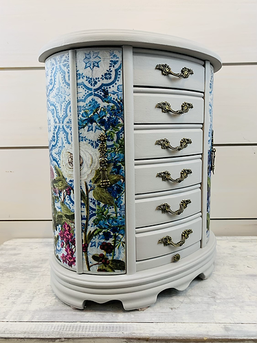 Garden Floral Jewelry Box