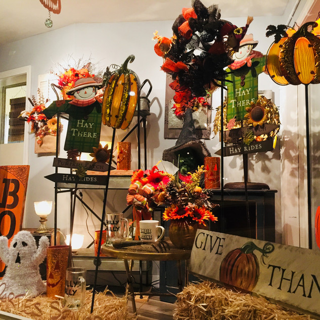Fall Holiday Window