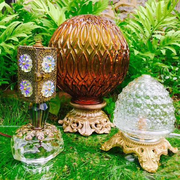 OOAK Vintage Lamps
