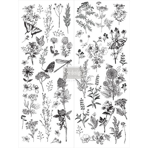 SPRING MEADOW LIFE-REDESIGN DÉCOR TRANSFERS® –  22″X 30″