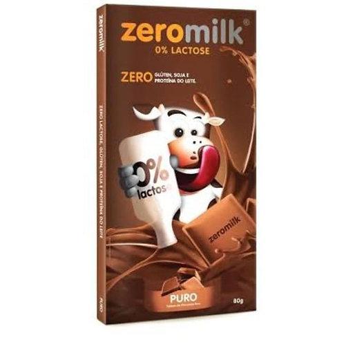Chocolate Zeromilk 40% Puro 80g