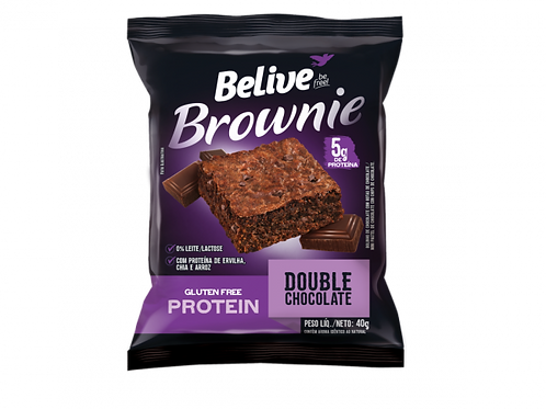 Brownie Belive Duo Chocolate.  40gr