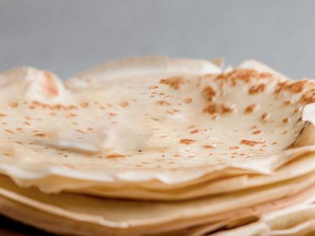 Receita de tortilhas