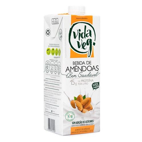 Leite vegetal de amêndoas 1L