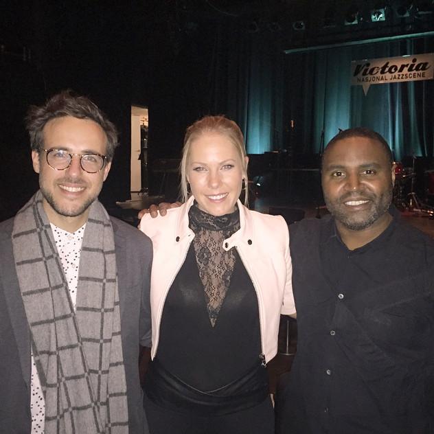 Gilad Hekselman, Kendrick Scott & me