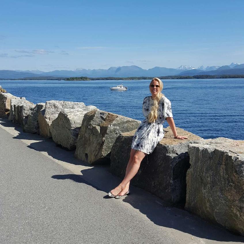 Sun is shining in Molde