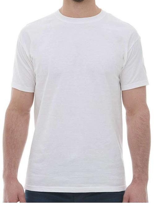 10 T-Shirts (M&O 4800 100% Cotton)
