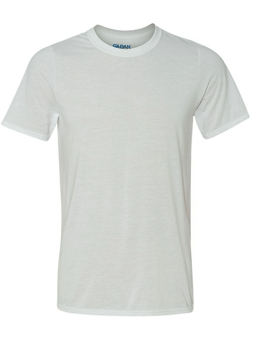 15 T-shirts IMPRESSION ENCRE NOIR (42000 Gildan Performance)