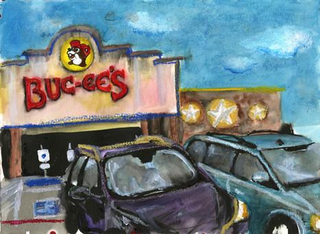 Buc-ee's Denton Parking Lot