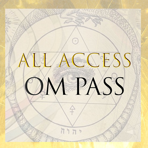 ALL ACCESS PASS- DISCOUNT SPECIAL!