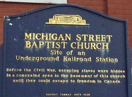 Buffalo Niagara Freedom Station Coalition Announces over $204,000 for Michigan Street Baptist Church