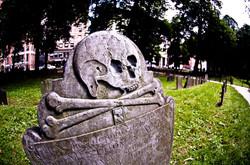 Granary Cemetery in Boston, MA