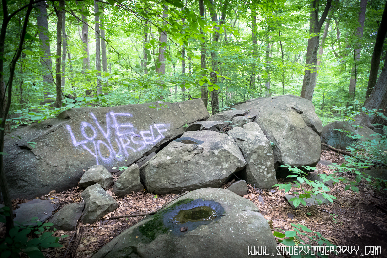 Love Yourself - Ringing Rocks Park