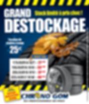 Grand destockage pneus chez chronogom pr