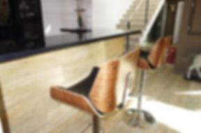 décoration comptoir bar