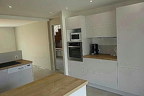 cuisine agencement et implantation Angers Cholet Saumur