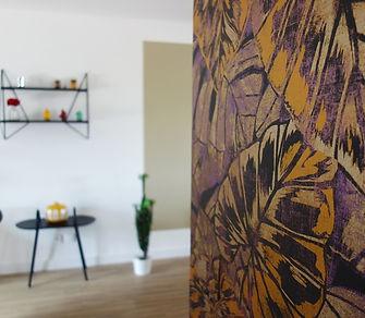 décoration murale salon et papier peint