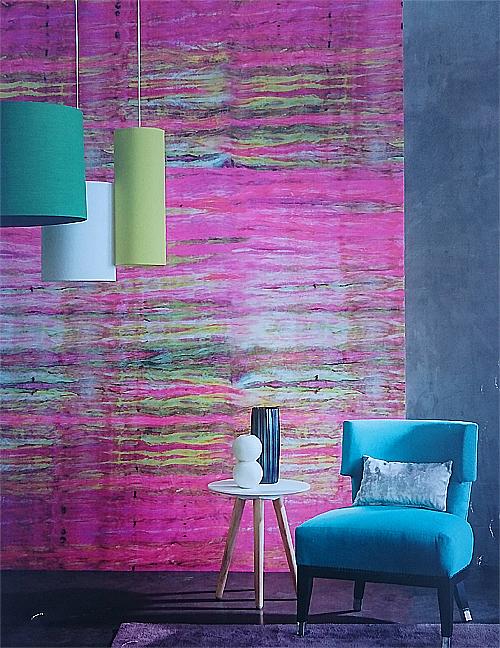 papier peint et couleur