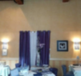 salle de restaurant avant travail décoratrice