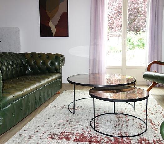décoration d'intérieur salon Angers