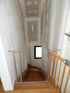 escalier avant décoratrice intervention